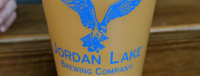 Jordan Lake Brewing Company is one of Breweries or Bust 3.