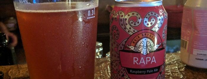 Faros beer is one of Bari.