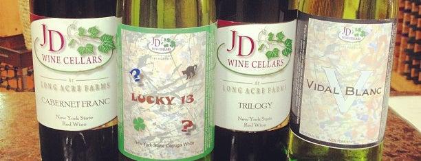 JD Wine Cellars is one of Rochester Craft Beverage Trail Passport.