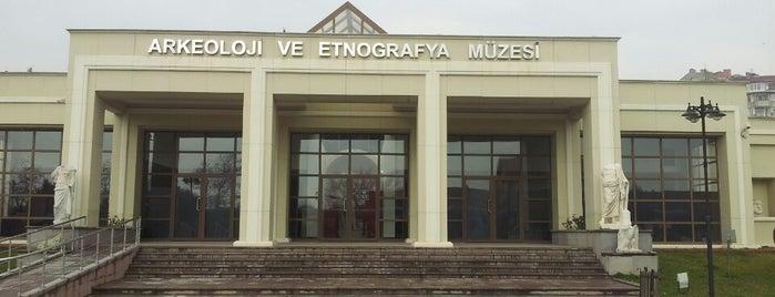 Kocaeli Arkeoloji ve Etnografya Müzesi is one of Tempat yang Disukai Canan.