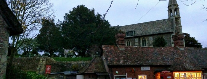 Clifton Hampden Village is one of Radiohead's Oxford.