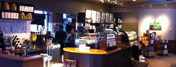 Starbucks is one of Lieux qui ont plu à David.