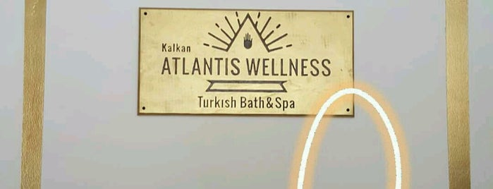 Atlantis wellness Turkish bath&spa is one of Kas-Fethiye.