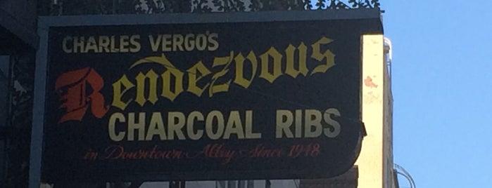 Charles Vergos' Rendezvous is one of Memphis.