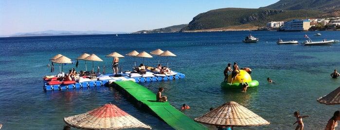 Mum Beach Club is one of karaburun.