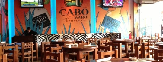 Cabo Wabo Cantina is one of How The West Was Won.