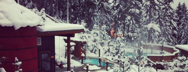 Scandinave Spa Whistler is one of Tempat yang Disukai Jack.