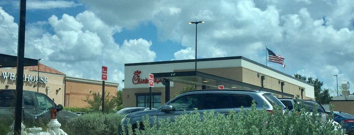 Chick-fil-A is one of Lugares favoritos de Gregory.