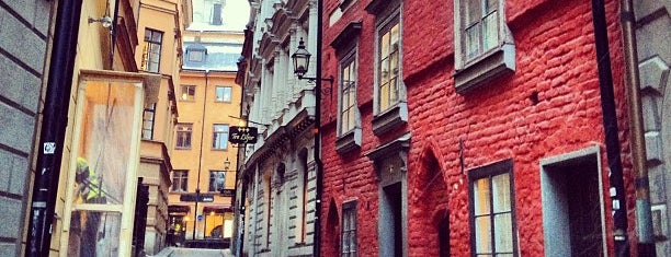 Gamla Stan is one of Stockholm.