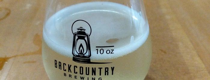 Backcountry Brewing is one of YVR.