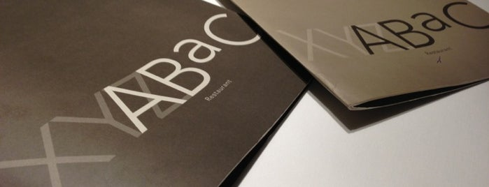 ABaC Restaurant & Hotel is one of 3* Star* Restaurants*.