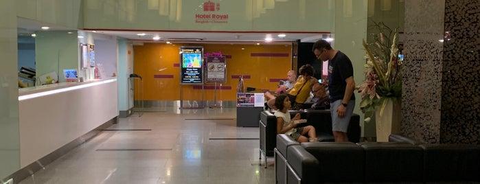 Hotel Royal Bangkok is one of Orte, die Davide gefallen.