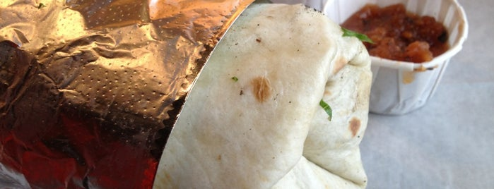 Phat Burrito is one of 40 Must-Try Burritos.