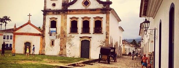 Igreja Santa Rita de Cássia is one of Tempat yang Disukai Cris.