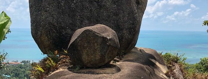 Overlap Stone is one of VACAY - KOH SAMUI.