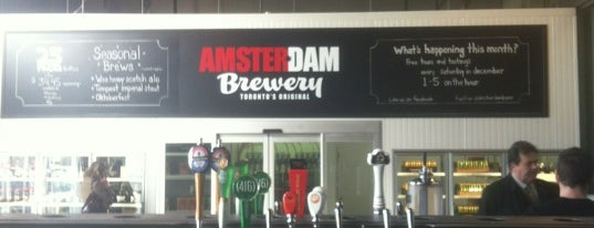Amsterdam Brewery is one of Ontario Craft Brewers.