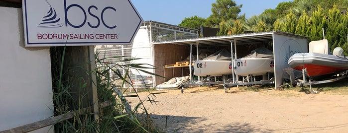 Bodrum Sailing Center is one of Lieux sauvegardés par Zeynep.