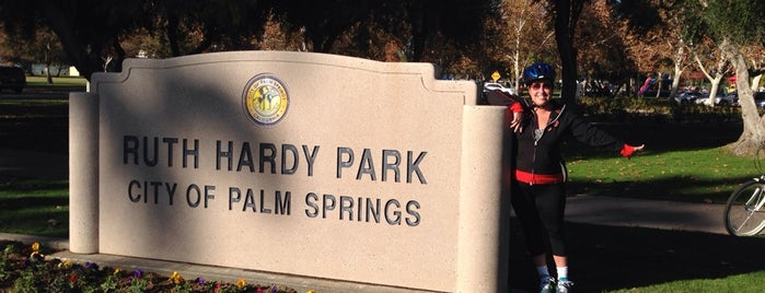 Ruth Hardy Park is one of Palm Springs.