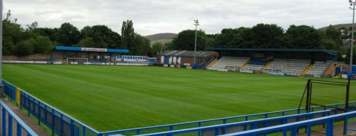 Stalybridge Celtic FC is one of Non-League Football Grounds (Northern).