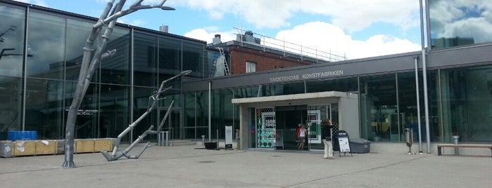 Taidetehdas - Konstfabriken - Art Factory is one of Porvoo.