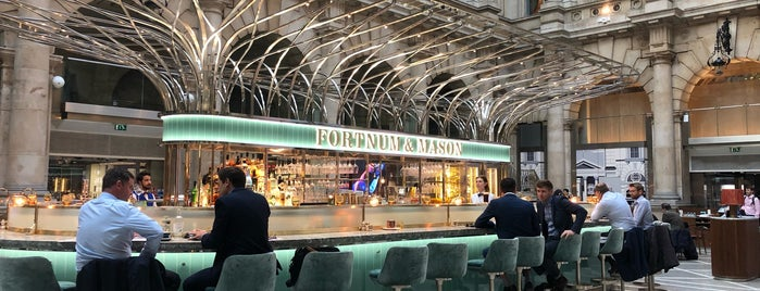 The Fortnum's Bar & Restaurant is one of London.