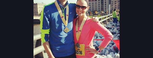 IMT Des Moines Marathon Start/Finish Line is one of See Des Moines Ultimate List.