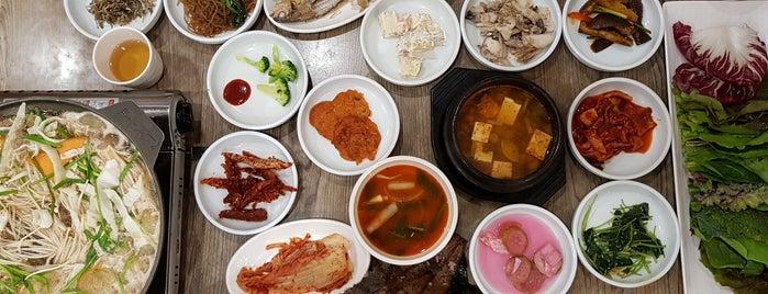 백제의집 is one of Locais salvos de Seung O.