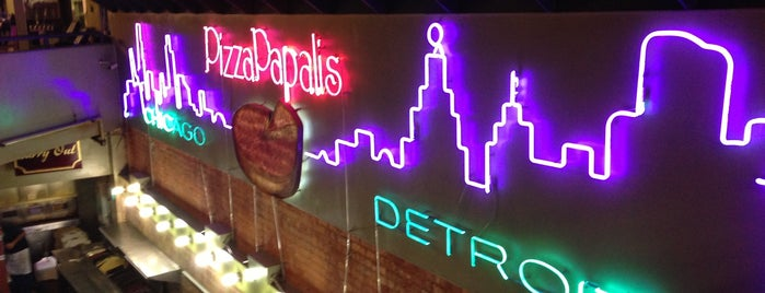 PizzaPapalis of Greektown is one of Detroit Food City.