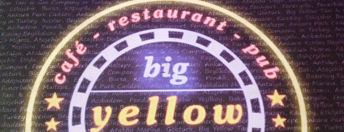 Big Yellow Taxi Benzin is one of Antalya my to do list.