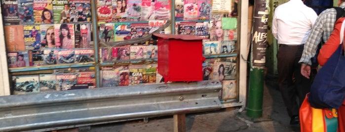 Puesto De Periodicos y Revistas is one of Places visited.
