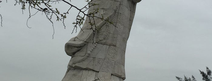 A-Ma Goddess Statue is one of Macau.
