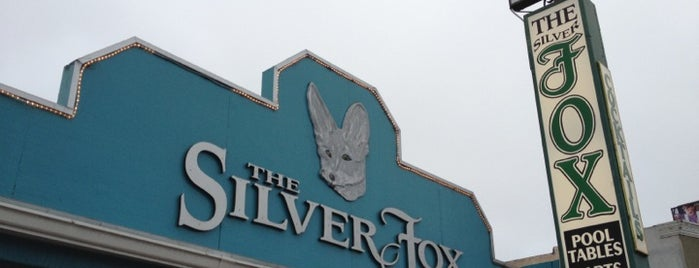 The Silver Fox Lounge is one of Tempat yang Disukai Bort.