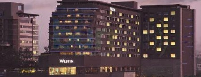 The Westin is one of Tempat yang Disimpan Kapil.