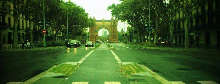 Arco del Triunfo is one of BCN musts!.