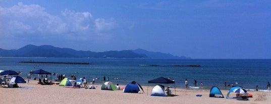 浜詰 is one of 日本の白砂青松100選.