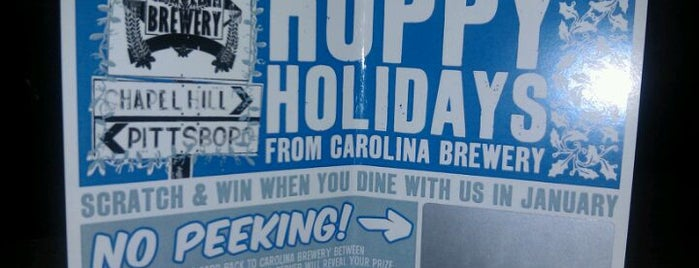 Carolina Brewery is one of The Straight Beef - Burger Truth.