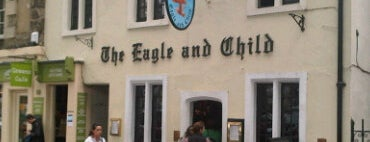 The Eagle & Child is one of England.
