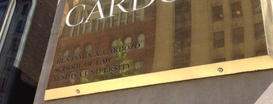 Benjamin N. Cardozo School of Law is one of Lugares favoritos de Emily.