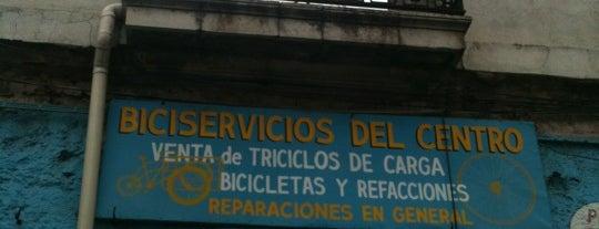 Taller Mecánico Bicicletas is one of Talleres para bicis.