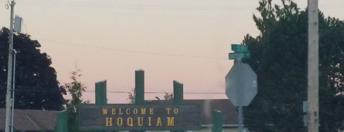 City of Hoquiam is one of frequent places.