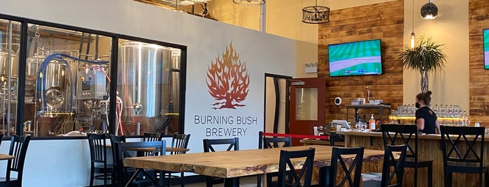 Burning Bush Brewery is one of Chicago area breweries.