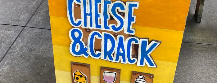 Cheese & Crack Snack Shop is one of Pdx.