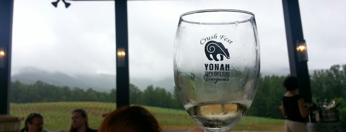 Yonah Mountain Vineyards is one of Brooke'nin Kaydettiği Mekanlar.