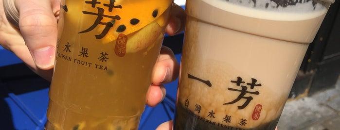 Yi Fang - Taiwan Fruit Tea is one of London 2020.