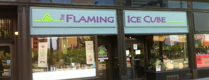 Flaming Ice Cube is one of Enjoy Cleveland.