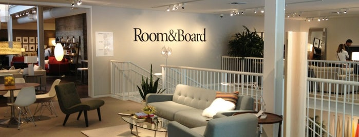 Room & Board is one of Furniture Shopping.