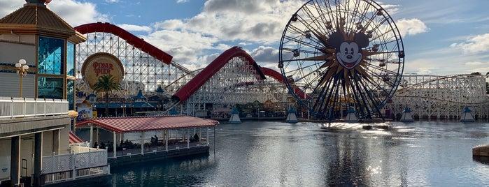 Pixar Pier is one of CD2.