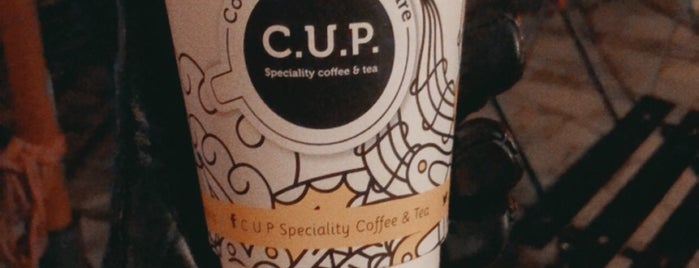 C.U.P. Speciality Coffee & Tea is one of London.