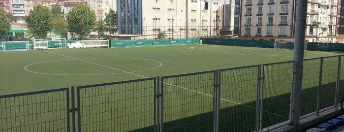 Bayrampaşa Belediye Stadyumu is one of Tempat yang Disukai Eymen.