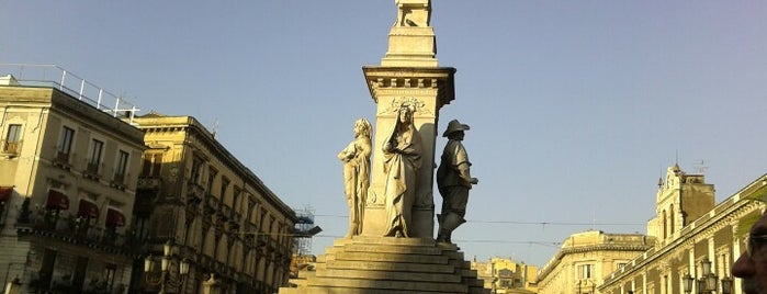 Piazza Stesicoro is one of Catania.